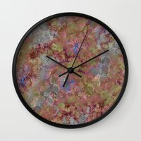 jungle Wall Clocks featuring Jungle by Laura Sturdy