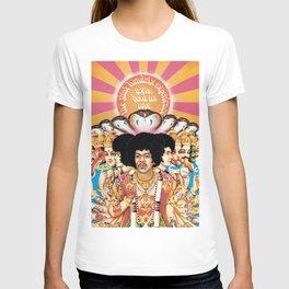 Hendrix Experience - Axis Bold As Love T-shirt