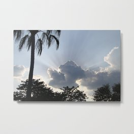LightRays Metal Print
