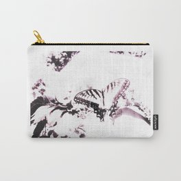 Faded Butterfly Lilac Carry-All Pouch
