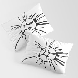 Abstract Ink 12 Pillow Sham