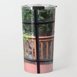 Redwood view deck Travel Mug