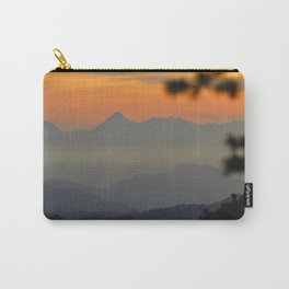 """""""Sunset at the mountains II"""" Carry-All Pouch"""