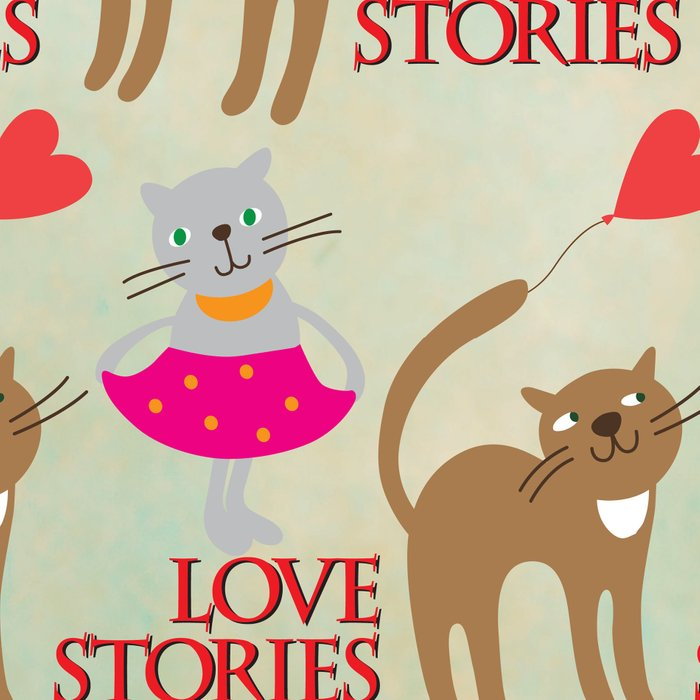 Cats - love stories Leggings