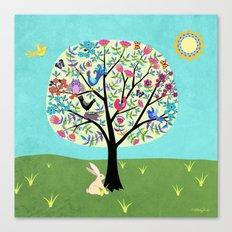Joyful Tree Canvas Print