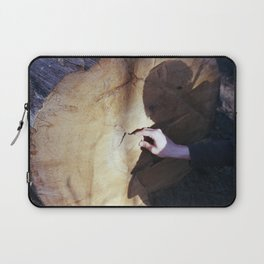 aging a tree Laptop Sleeve