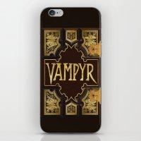 buffy the vampire slayer iPhone & iPod Skins featuring Vampyr Book -- Buffy the Vampire Slayer by BovaArt