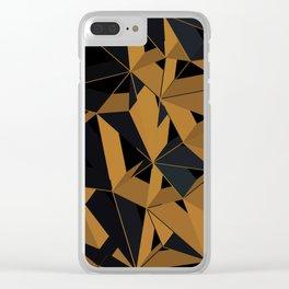 3D Futuristic GEO VI Clear iPhone Case