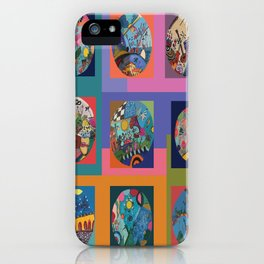 Life colors iPhone Case