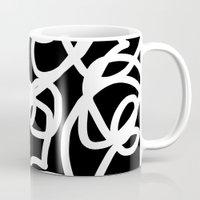 tangled Mugs featuring TANGLED by SUNNASAVITA