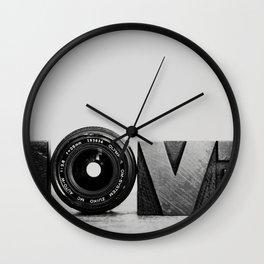 Love is ... Wall Clock