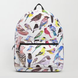 Pet and wild birds of America Backpack