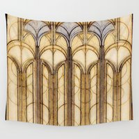 palms Wall Tapestries featuring Palms by Steve W Schwartz Art