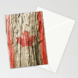 Canada on woods Stationery Cards