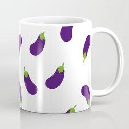 EGGPLANT AUBERGINE VEGGIE FOOD PATTERN Coffee Mug