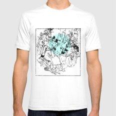 mummer culligronthy Mens Fitted Tee MEDIUM White