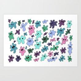 The Blobs Art Print