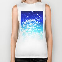 martell Biker Tanks featuring Under the Same Sky by G Martell