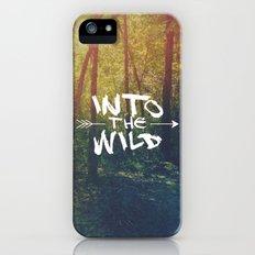 Into the Wild iPhone (5, 5s) Slim Case