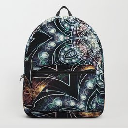 Mandalas from the Voice of Eternity 4 Backpack