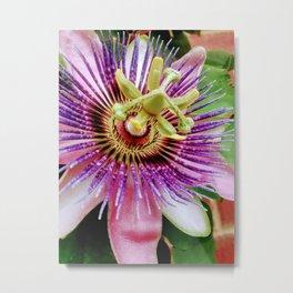 Bizarre Flower Metal Print