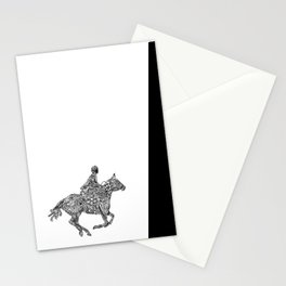 Horse Rider Stationery Cards