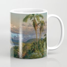 Volcán Cayambe, Ecuador Landscape Painting by Frederic Edwin Church Coffee Mug