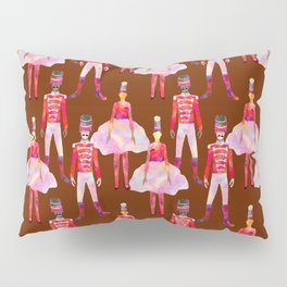 Nutcracker Ballet - Chocolate Brown Pillow Sham