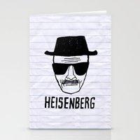heisenberg Stationery Cards featuring HeisenBerg by IIIIHiveIIII