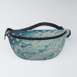 Blue liquid Fanny Pack