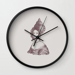 Haute Coiffure  /#6 Wall Clock