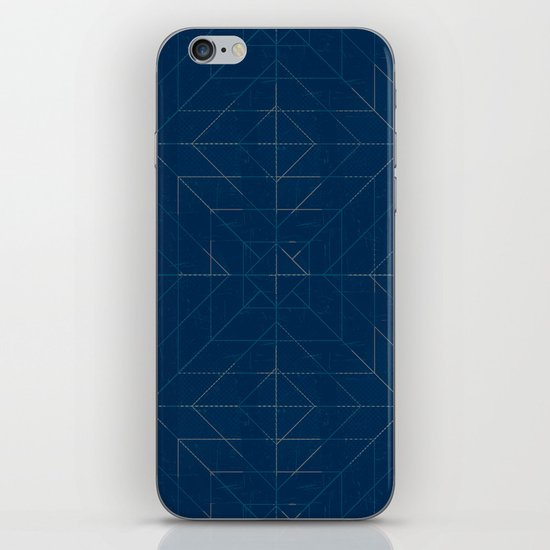 Geometric Lines iPhone & iPod Skin