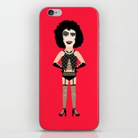 rocky horror iPhone & iPod Skins featuring Rocky horror picture show by Vanderpin