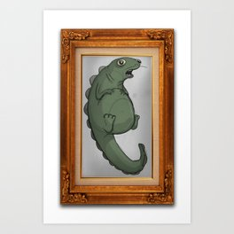 Fat Dinosaur Art Print