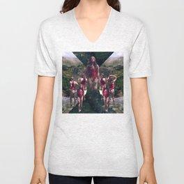 Goddess of the Mountains Unisex V-Neck