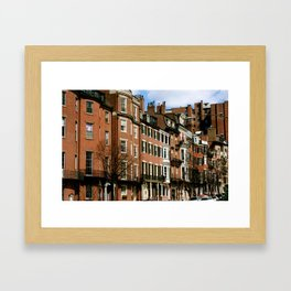 beantown. Framed Art Print
