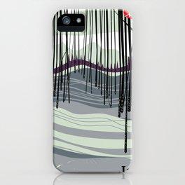 Japan woodland iPhone Case