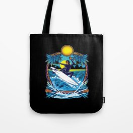 Surfing Surfing Surfboard Surfing Water Sports Tote Bag