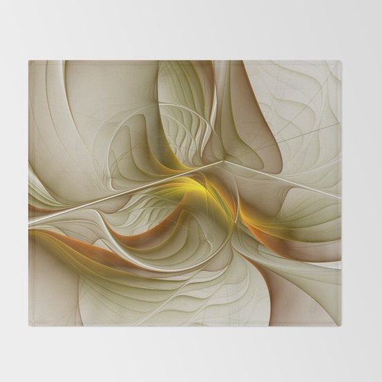 Abstract With Colors Of Precious Metals, Fractal Art by gabiwart