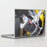 yoshi Laptop & iPad Skins featuring Hot Yoshi by skwerelygraphs