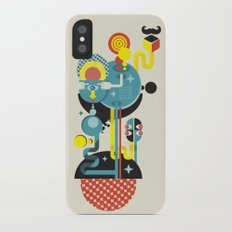 Blue Monster. Slim Case iPhone X
