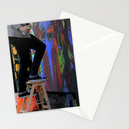 Those  'Say-Nothing' Work Clothes Stationery Cards