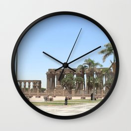 Temple of Luxor, no. 18 Wall Clock