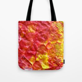Fire Spiral Tote Bag