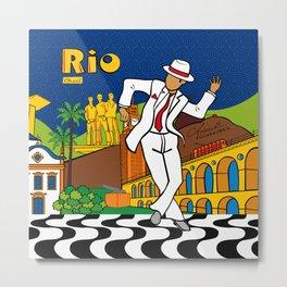 Rio Bohemia Metal Print
