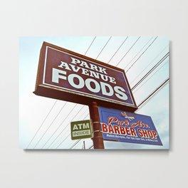 Park Ave Foods Metal Print