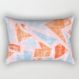 Aged terrazzo 3.1 Rectangular Pillow