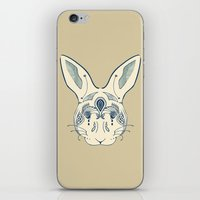 hare iPhone & iPod Skins featuring Hare by Sloni