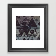 tyx tryy Framed Art Print