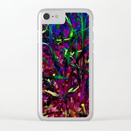 Seeing Through Silvia's Eyes Clear iPhone Case